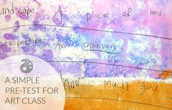 Using Pre & Post Tests to Measure Student Growth in Art: Part 1