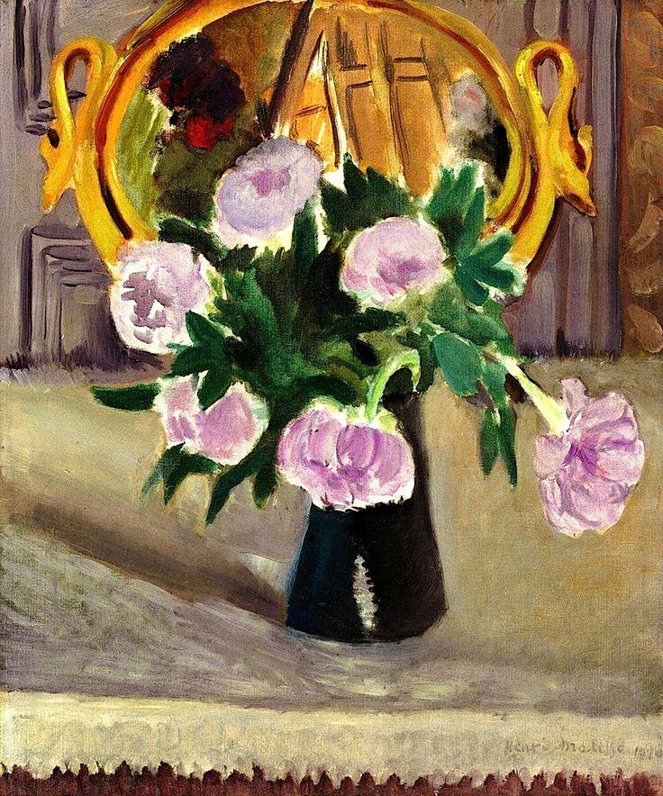 Pot of Peonies / Henri Matisse - 1920