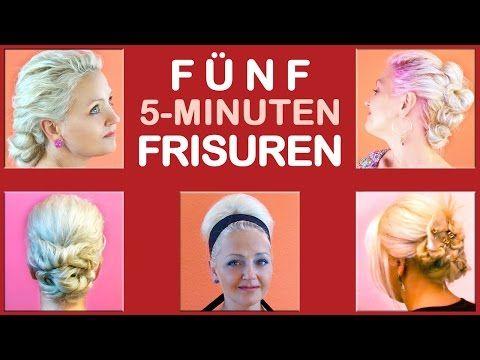 FÜNF 5-MINUTEN-FRISUREN | einfache Hochsteckfrisuren | für Uni, Arbeit, Alltag, Freizeit