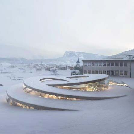 ✿ ❤ Audemars Piguet Museum by Big in Le Brassus, Switzerland #Architecture                                                                                                                                                      More