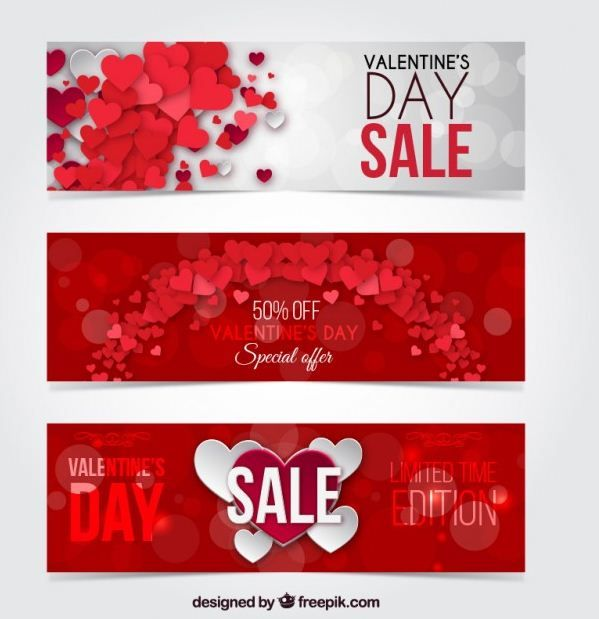 15 Free Download Valentines Day Web Banner