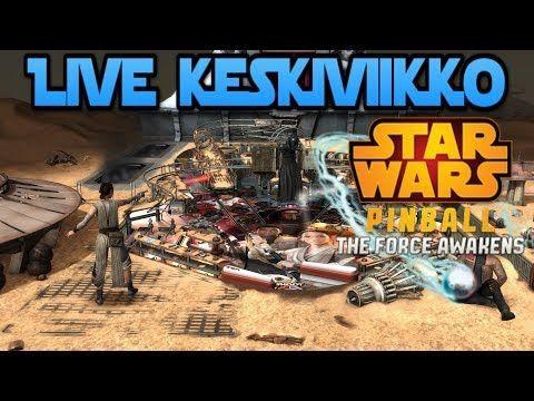 Live keskiviikossa: Pinball FX2 - star wars pinball: the force awakens pack