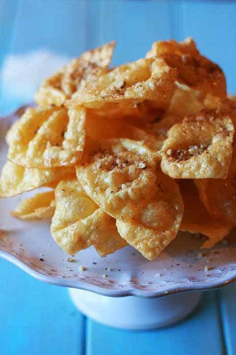 Diples - Greek Christmas Sweet with honey, walnuts & cinnamon