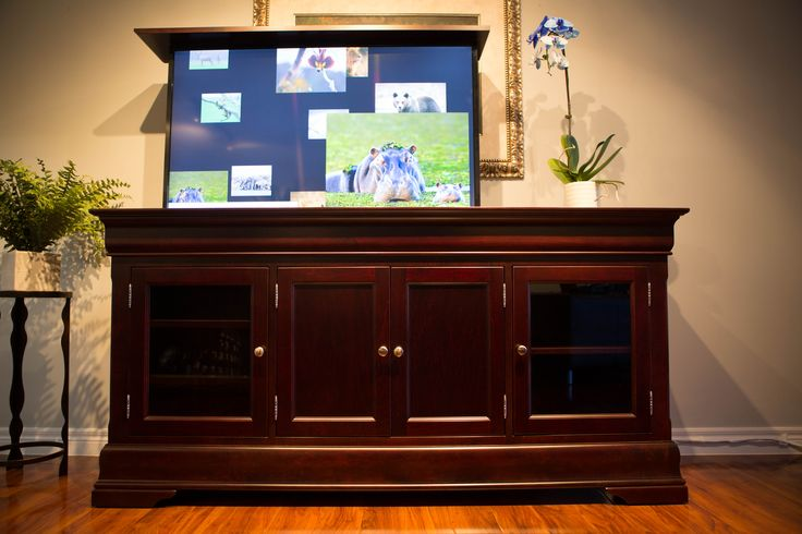 The Tuscany is another one of our TV lift cabinets handcrafted with the finest woods. The Tuscany is a must have for any entertainment enthusiast.  https://www.facebook.com/morphbotics/