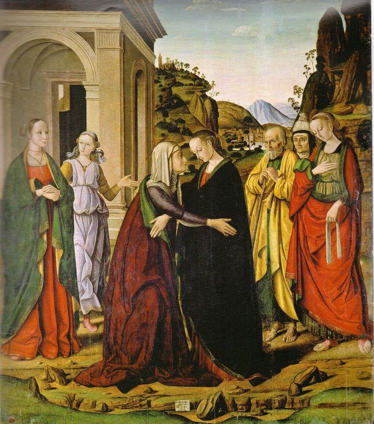 Встреча Марии и Елизаветы, ок. 1488-1490