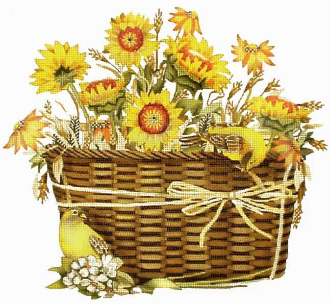 18 mesh Sunflower Basket © Mary Lake Thompson for Melissa Shirley Designs  sc 1 st  Pinterest & 88 best Art ~ Mary Lake Thompson images on Pinterest | Christmas ...