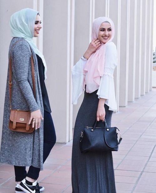 sporty elegant hijab style