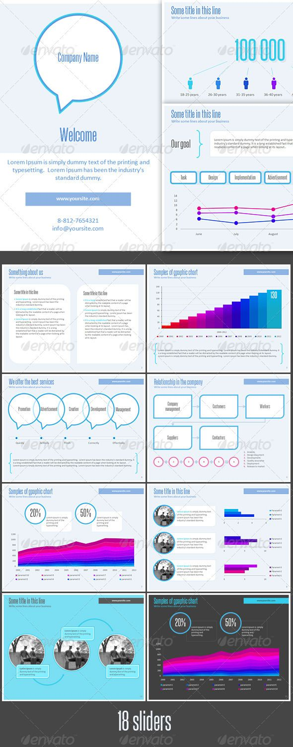 Corporate Presentation Template