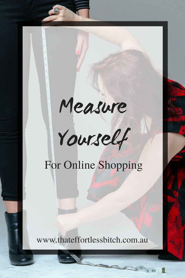 Don't get stuck ordering clothes that don't fit! Learn how to measure yourself and take correct measurements with our online shopping guide!