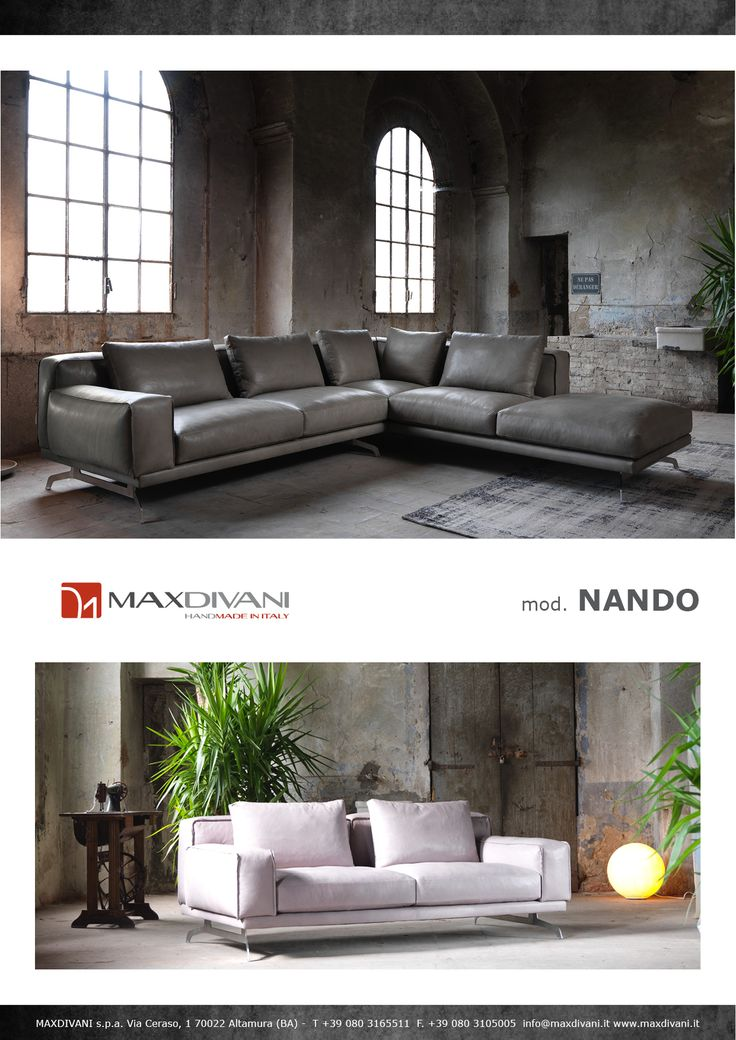 14 best Max divani exclusive collection images on Pinterest - divanidivani luxurioses sofa design