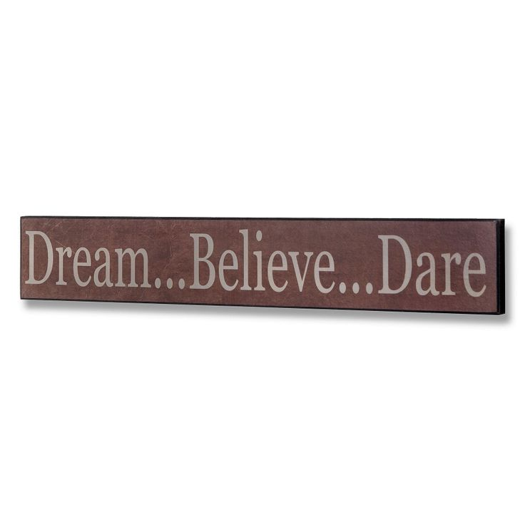 Dare Plaque by Harley & Lola