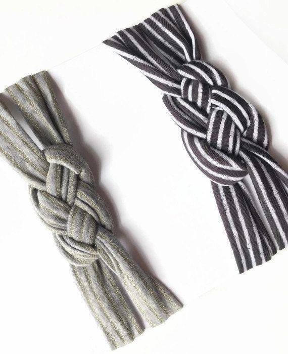 Celtic Knot Headband Baby Turban Headband Braided by NeAccessory