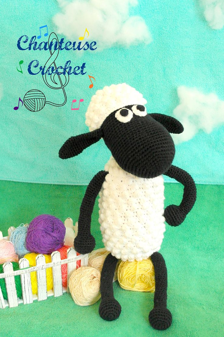 Ravelry: Shaun The Sheep Plushie pattern by Abigail Gonzalez - free pattern c...