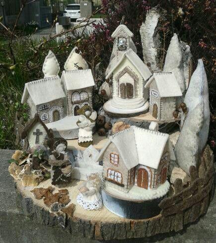 Villaggio di montagna - Luisa Valent