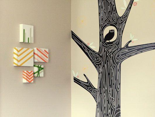 washi tape art by SarahHearts