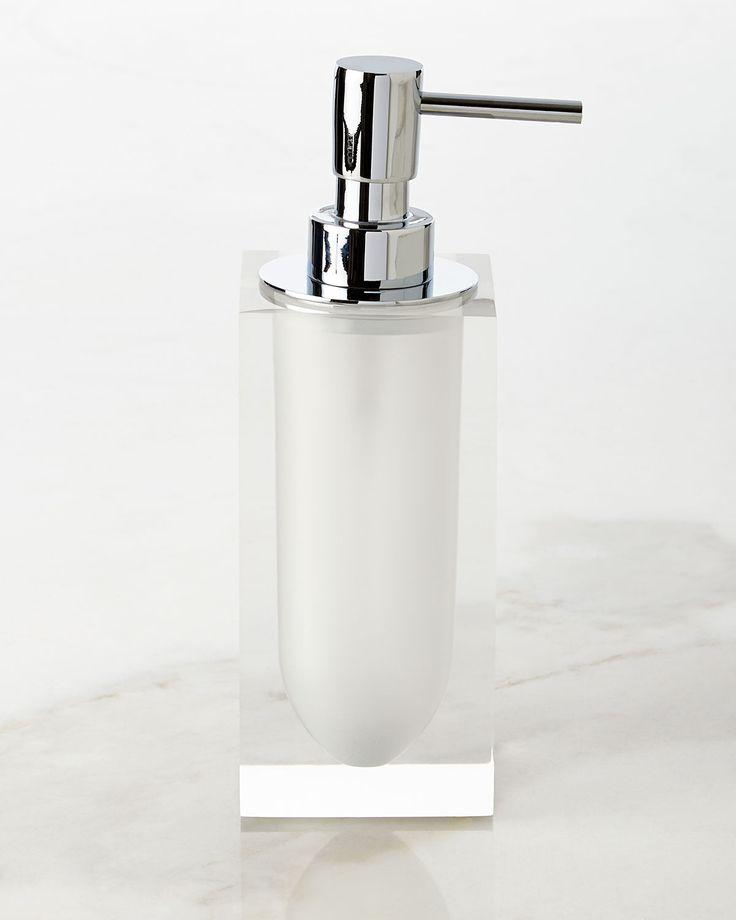 crystal bathroom accessories sets%0A White Hollywood Pump Dispenser  Hollywood VanityHouse AccessoriesBathroom