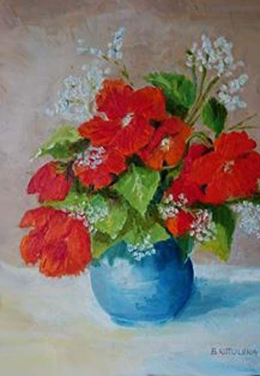 30 x 25 cm oil