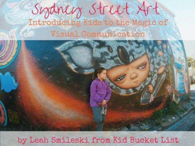Sydney Street Art by Leah Smileski
