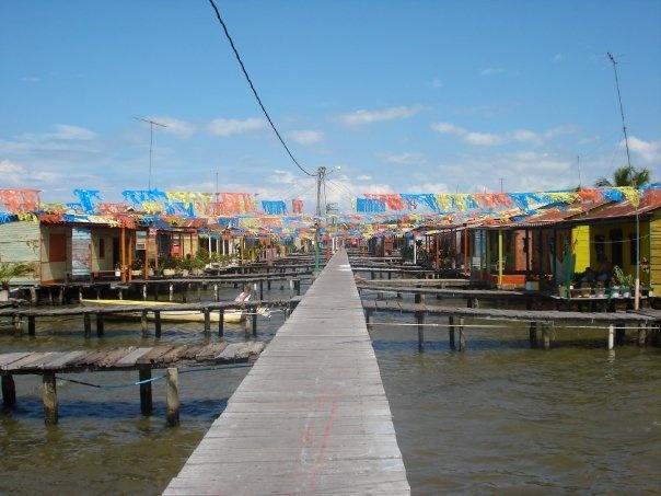 Ceuta. Pueblo de palafitos, Lago de Maracaibo, estado Zulia.