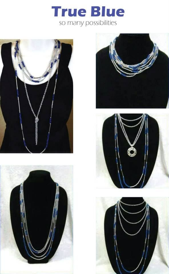True Blue...So Many Ways to Wear It! More BLING for Your BUCK!