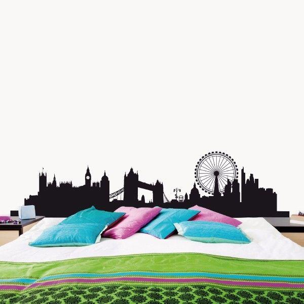 London . Skylines. My vinilo. vinilos decorativos. decoración de pared. papel tapiz. Decohunter. Encuentra donde comprar este producto en Colombia