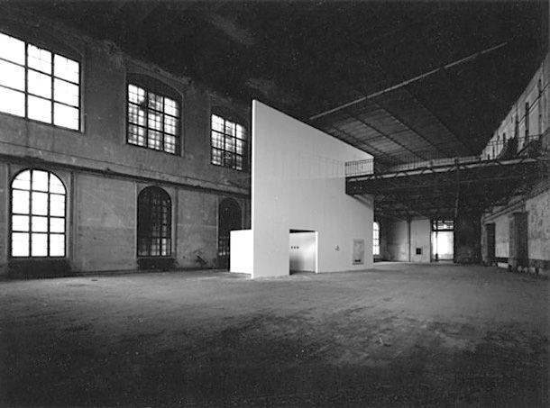1991 · 'Act for a project' · Semper Depot, Wien