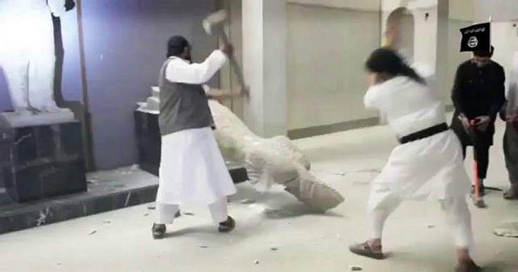 La élite ordena destruir los museos Anunnaki: Estatuas y tesoros que son patrimonio de la humanidad