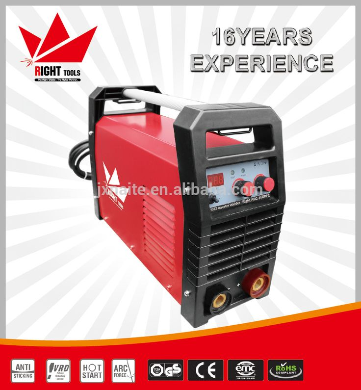 MMA 160amp PFC single phase arc portable welding machine price list