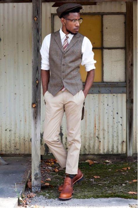 fantásticos trajes de novio vintage 2015