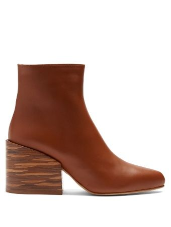 Tito leather ankle boots