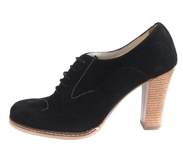 Pantofi piele Naturala Via Firenze S2 Negru