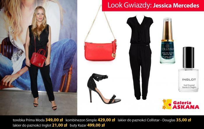 LOOK GWIAZDY: Jessica Mercedes
