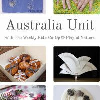 Australia Unit - Great collection of Australia related arts, crafts, cooking, printables etc