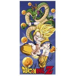Toalla Dragon Ball Z Dragon y Goku Superguerrero