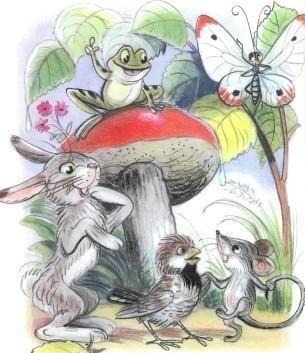 Tale: A gomba (Illusztráció: Suteev V.)