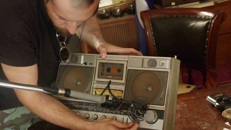 Recording old portable cassette players for Analog Days sfx library