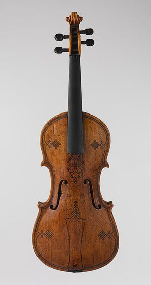 Violin [England or Germany] (1990.7) | Heilbrunn Timeline of Art History | The Metropolitan Museum of Art