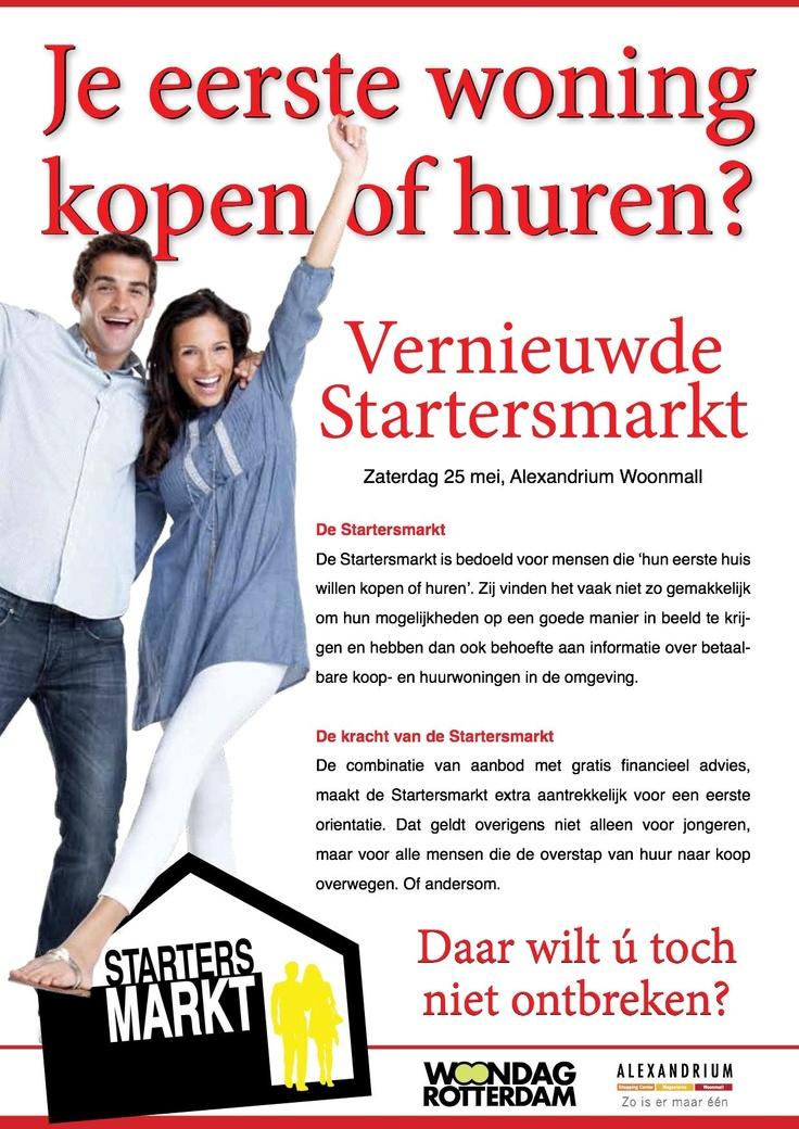 je eerste woning kopen of huren?