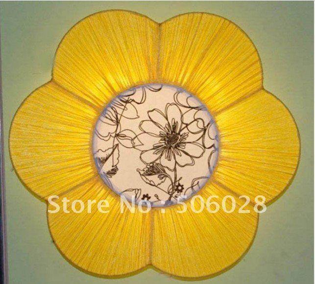 Купить товарЖелтый sunflower дети потолок светильники от шума освещение также корабль для shippment в категории Потолочные светильникина AliExpress.                        Технические характеристики: