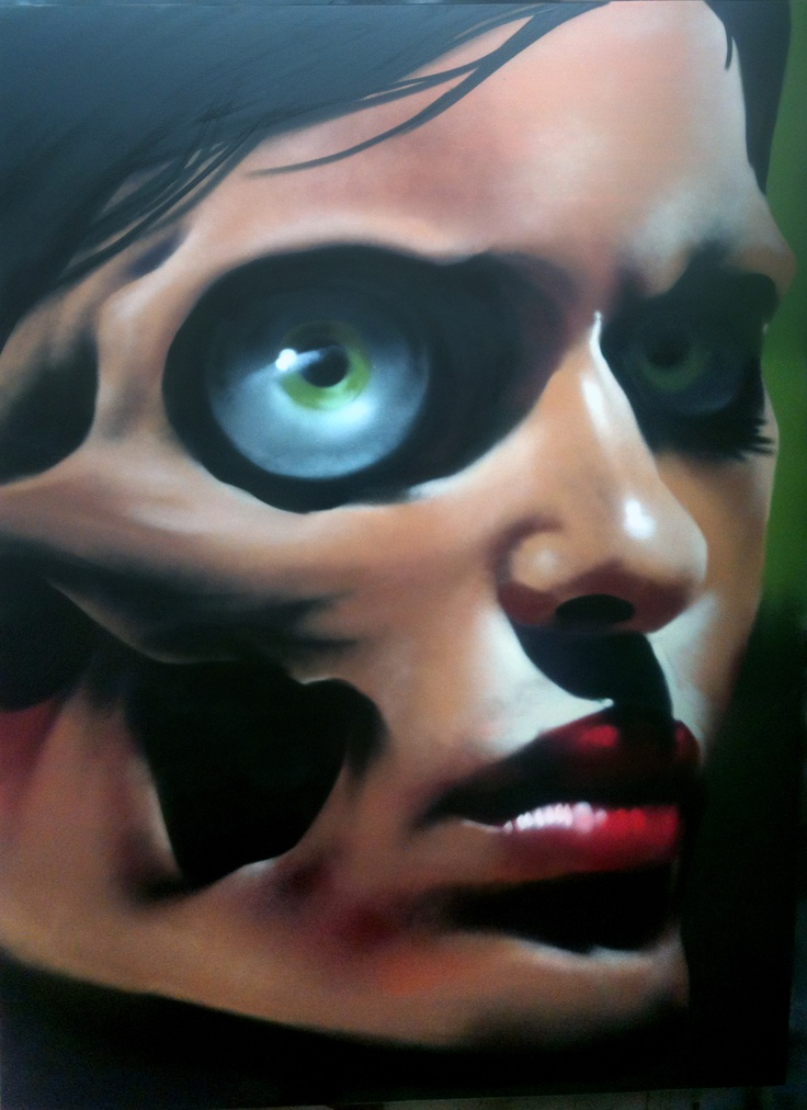 "portrait called ""gaze"" done by me OMEN"