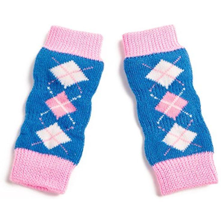 Pet Heroic Anti-Slip Knit Dog leg warmer with Rubber ...