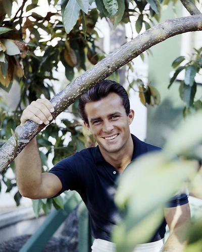 ROBERT CONRAD 8X10 PHOTO 1960'S PORTRAIT SMILING POLO SHIRT in Entertainment Memorabilia | eBay