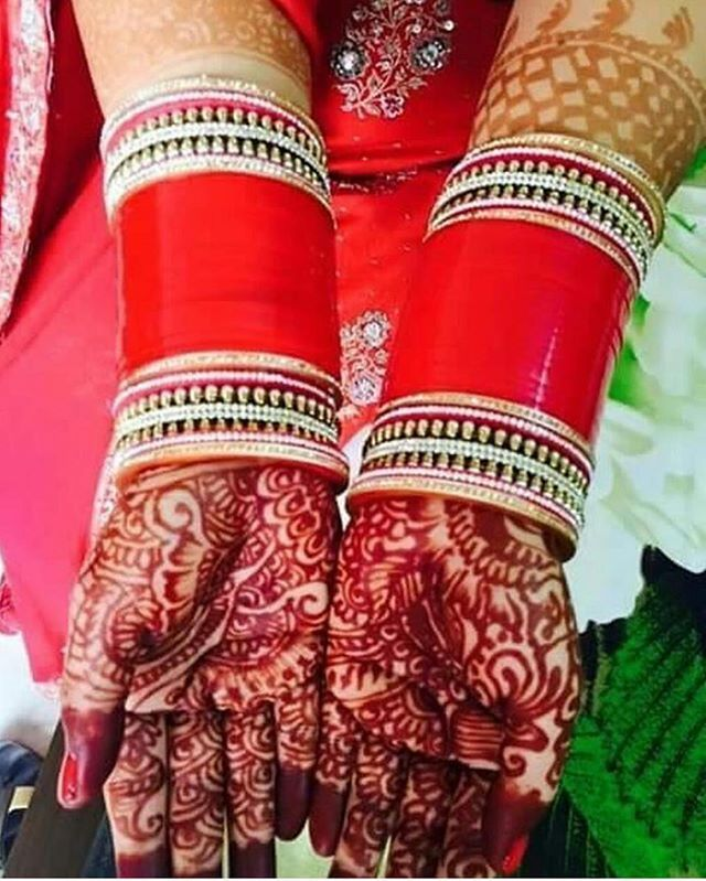 WEBSTA @ bridal_chura - Pic shared by Co-Admin : Hubby❤️
