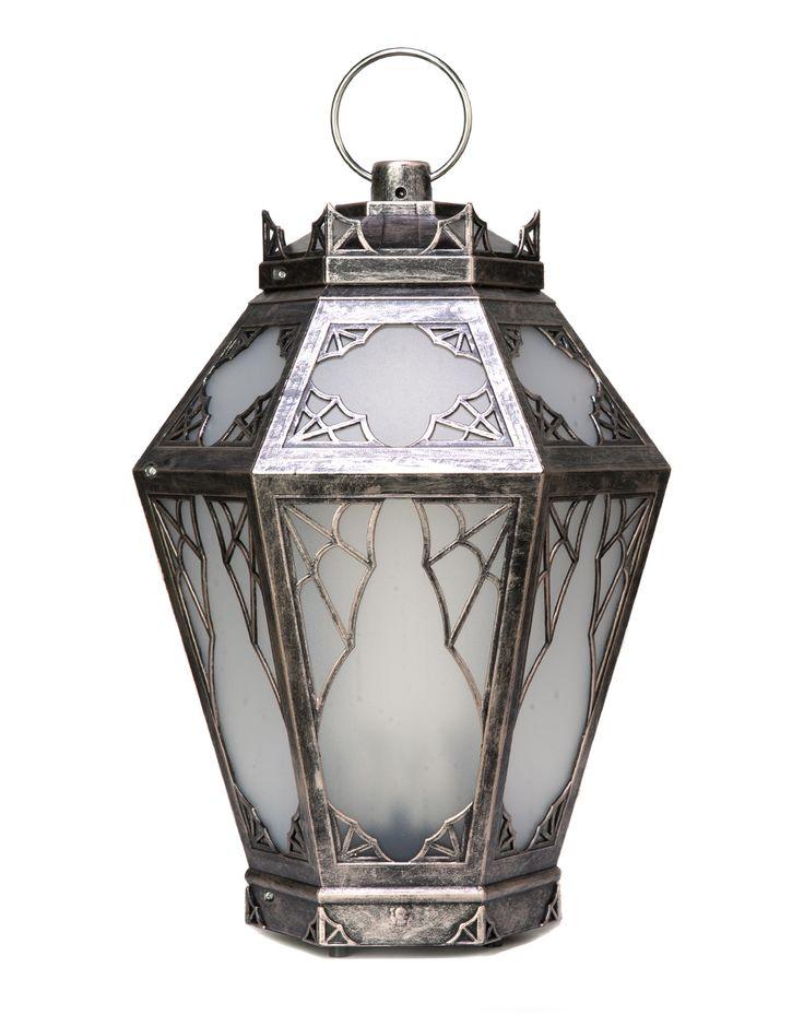 Spiderweb Lantern - Get in my Halloween Decor! http://www.spirithalloween.com/product/haunted-lantern/
