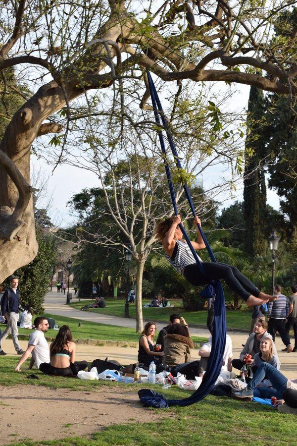 Как проводят досуг Барселонцы парк, барселона, Испания, Каталония, отдых, досуг, длиннопост