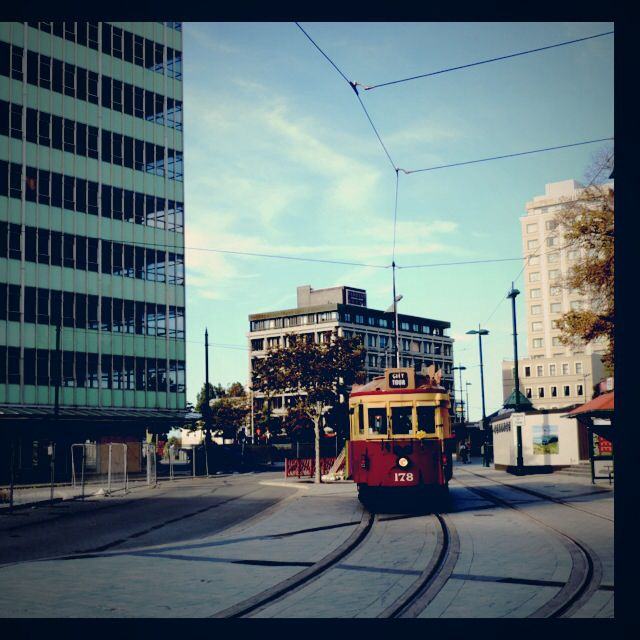 I love the old class tram.
