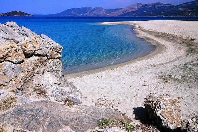 Megali Ammos beach, Evia island by Marite2007, via Flickr