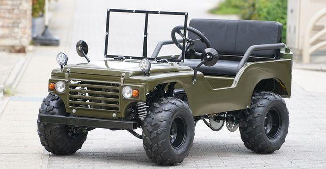 ミニカー登録で公道走行可能なミニジープ「Big Force(ビッグフォース)」が販売開始された。