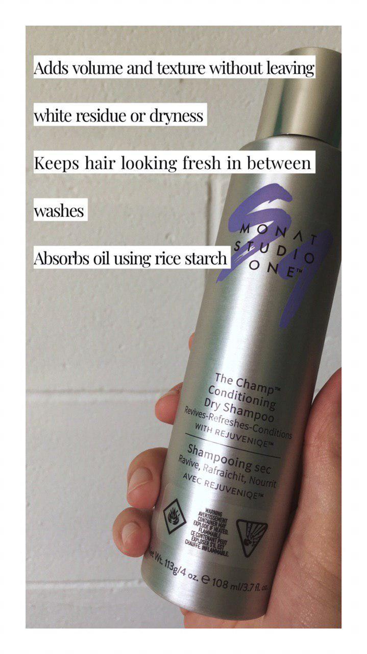 Dry Shampoo Clean Ingredients Healthy Hair MONAT Monat