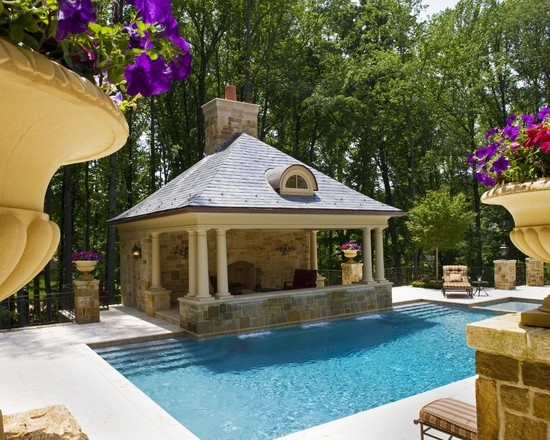 59 Best Images About Pool House Cabanas On Pinterest
